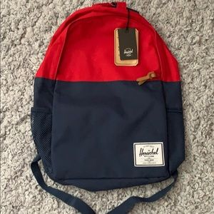 BNWT Herschel Jasper Backpack Blue and Red
